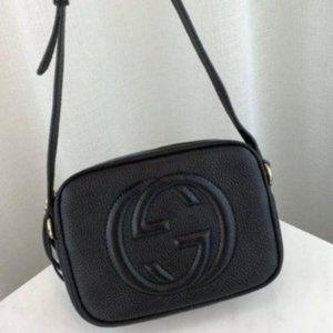 💜Authentic Gucci Disco Soho Bag Black